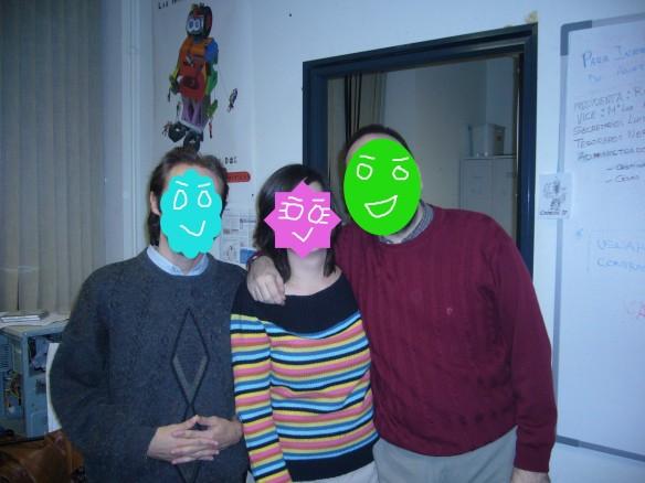 El trio infame