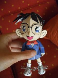 Conan Edogawa Papercraft 2