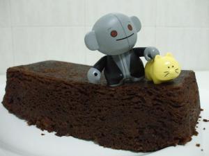 Mikan, el Señor Gris y el bizcocho de chocolate 2