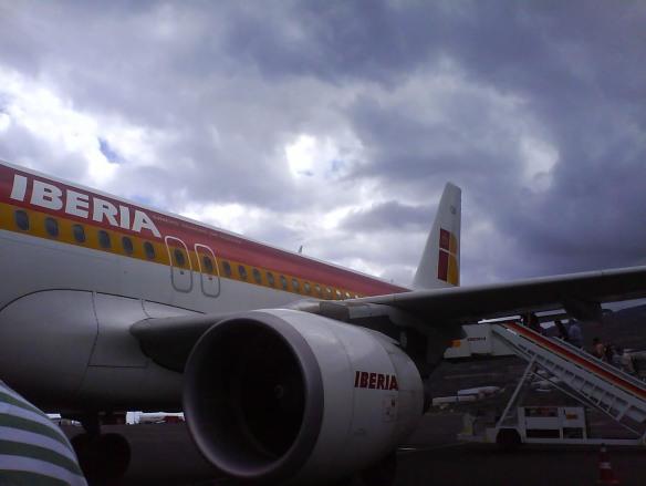 Avión a Madrid
