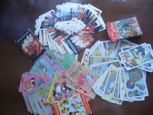 Juegos de Familias Cartas