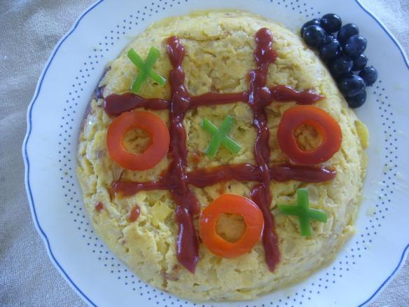 Tortilla 3 en raya