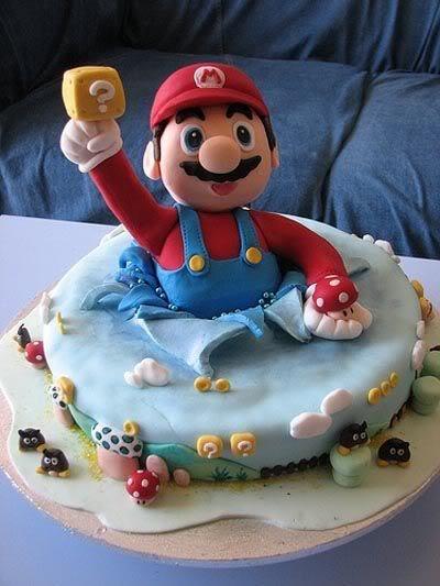 Mario cakes 2