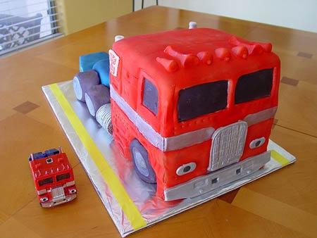 Optimus cake