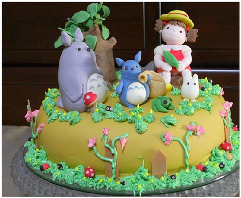 Amazing cake art amazing photos of mouthwatering cakes for Anpanman cake decoration