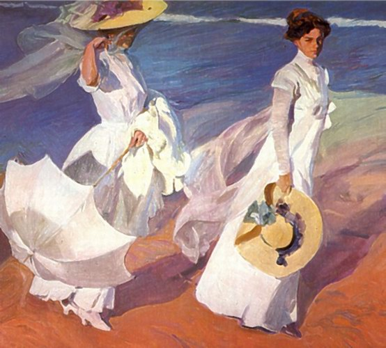 Joaquin_Sorolla_Walk_on_the_Beach