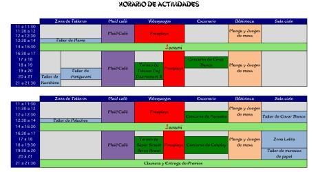 Horario-Jornadas