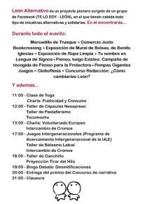 Program León Alternativo 2013