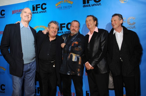 John Cleese, Terry Jones, Terry Gillian, Eric Idle, Michael Palin